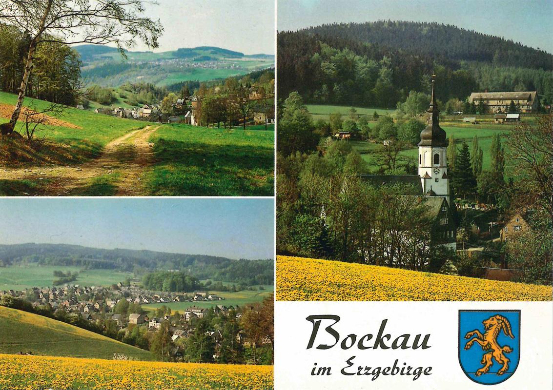 Ansichtskarte von Bockau