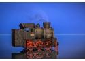 Rauchende Dampflokomotive