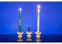 Kerzenständer handgedrechselt