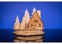 Weihnachtswaldhaus