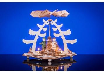 """Teelichtpyramide """"im Wald"""""""