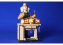 Räuchermännchen Krippenhersteller mit Spielwerk